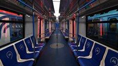 Вагон метро. Архивное фото