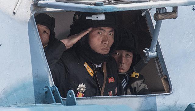 Военнослужащие в КНДР. Архивное фото