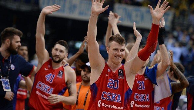 Баскетболисты московского ЦСКА обыграли испанскую «Басконию» вматче четвертьфинала Евролиги