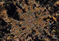 Над центром Москвы