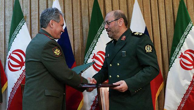 Визит министра обороны РФ Сергея Шойгу в Иран