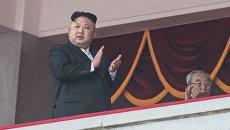 Глава КНДР Ким Чен Ын. Архивное фото