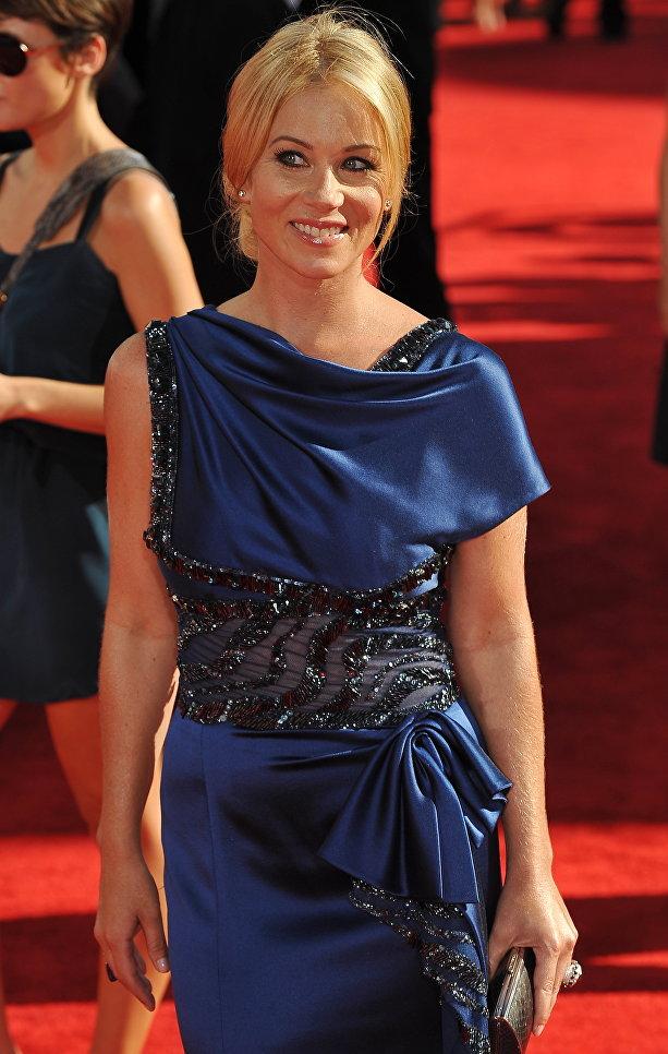 Актриса Кристина Эпплгейт, 2009 год