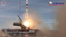 Союз МС-04 с космонавтом Юрчихиным и астронавтом Фишером отправился к МКС