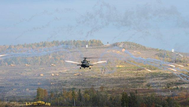 На российской военной базе в Армении прошли ночные военные учения летчиков