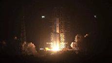 Запуск космического корабля в Китае. Архивное фото