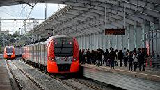 Развитие рельсового транспорта в Москве. Архивное фото