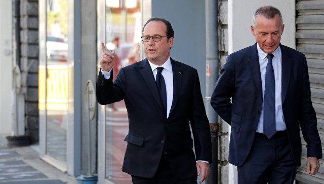 Франсуа Олланд проголосовал вгороде Тюле, где прежде был мэром