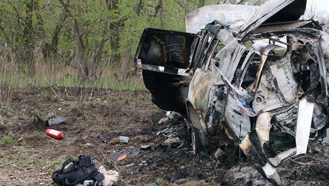 В ЛНР перехватили переписку украинских спецслужб о подрыве машины ОБСЕ