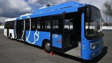 Презентация нового электробуса. Архивное фото