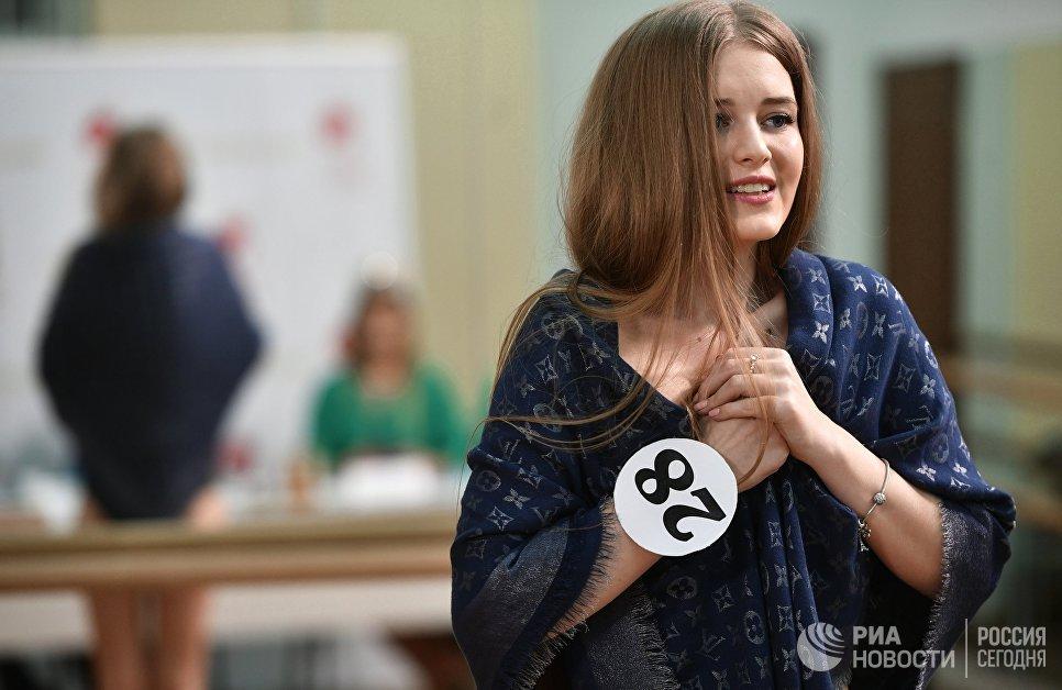 Финальный кастинг Мисс Москва — 2017