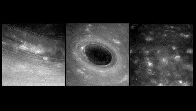 Кассини окунулся вкольца Сатурна— эпизод дня