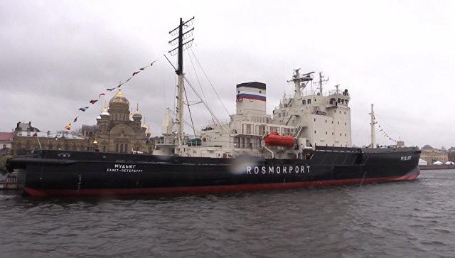 Парад морских великанов: фестиваль ледоколов проходит в Санкт-Петербурге