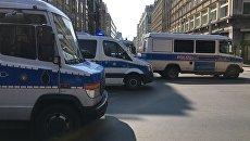 Немецкие полицейские автобусы. 1 мая 2017