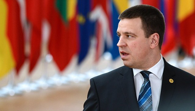 Премьер-министр Эстонии Юри Ратас. Архивное фото