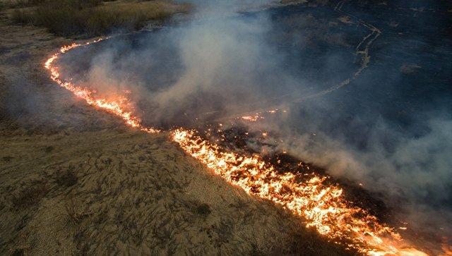Натушение пожаров вКрасноярском крае перебросят тяжелую авиацию МЧС