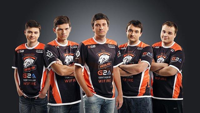 Команда Virtus.pro по Dota 2