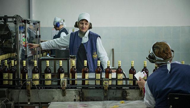 ВКрыму начали выпускать шампанское «Массандра»