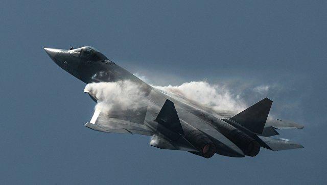 Самолет Т-50. Архивное фото