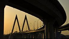 Вантовый мост Миллениум в Казани. Архивное фото