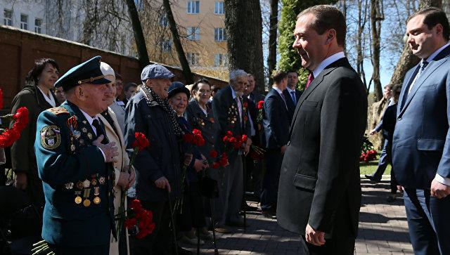 Россия сегодня: в Смоленске между ветеранами и Д. Медведевым прошёл важный разговор