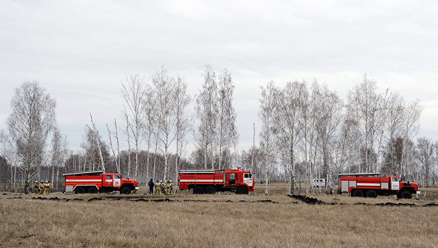 Авиация МЧС направлена вКрасноярский край для борьбы спожарами