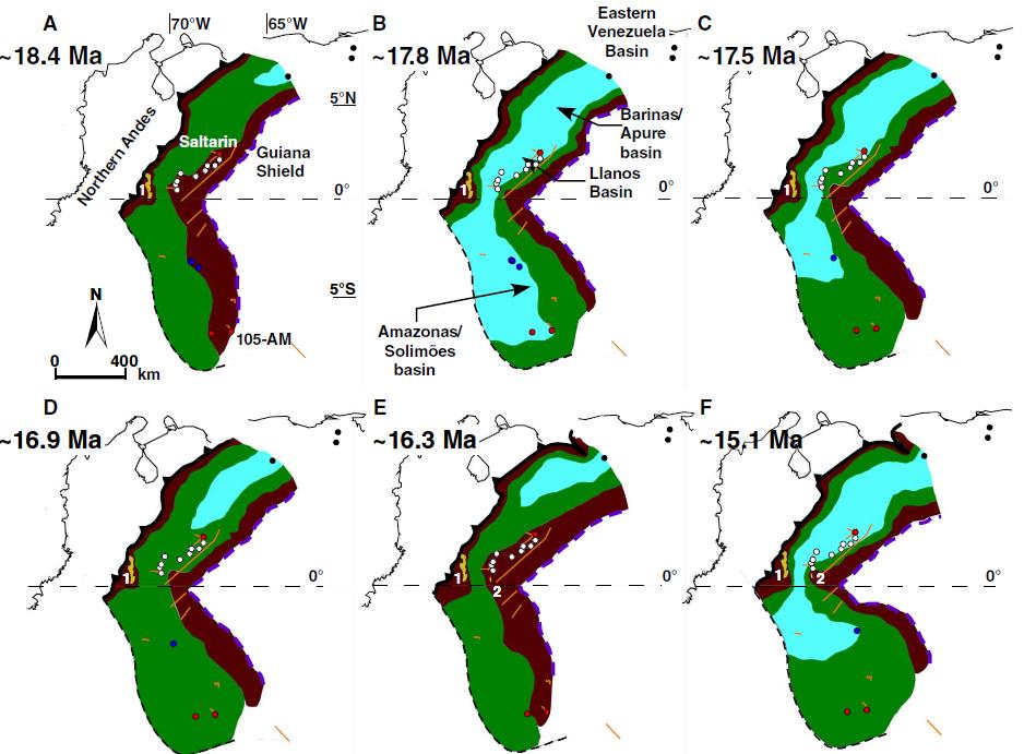 Южная Америка пережила два потопа за20 млн лет— Ученые