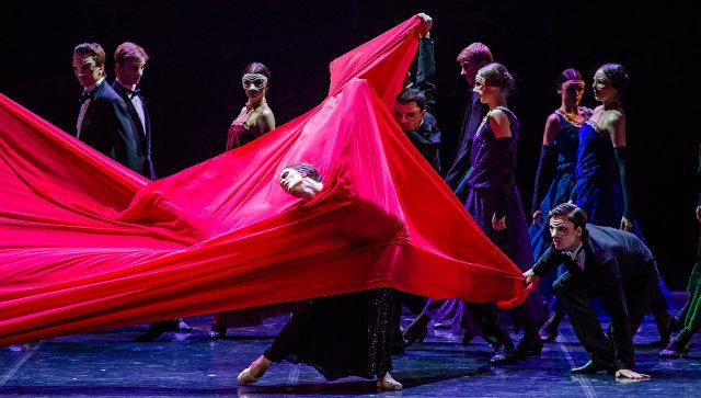 Балет Красная Жизель в постановке Театра Бориса Эйфмана. Архивное фото