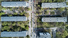 Пятиэтажные жилые дома в Москве, включенные в программу реновации. Архивное фото
