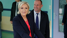 Второй тур президентских выборов во Франции. Марин Ле Пен. 7 мая 2017