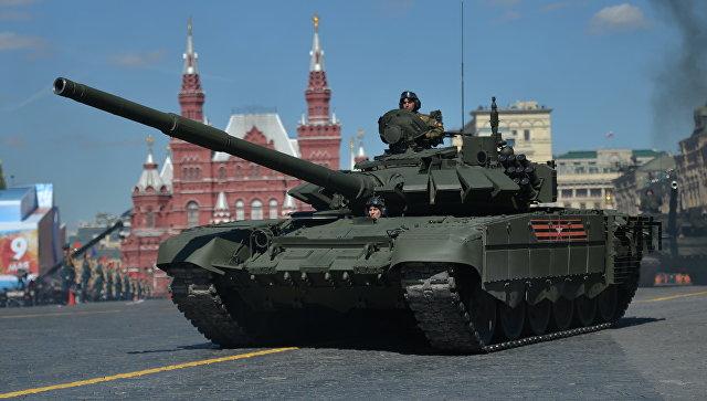 Танк Т-72Б3. Архивное фото