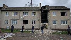 Спасатели МЧС России ликвидируют последствия взрыва газа в Калининградской области