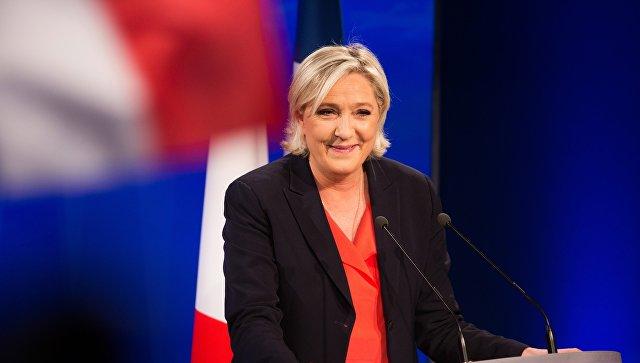 Лидер политической партии Франции Национальный фронт Марин Ле Пен. Архивное фото