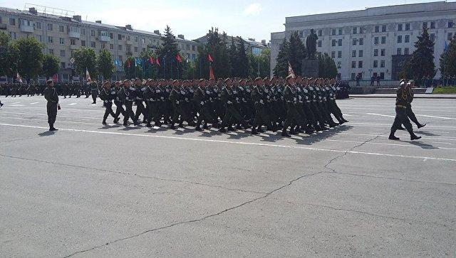 «Парад победы» вДонецке: боевики показали, «как это было»