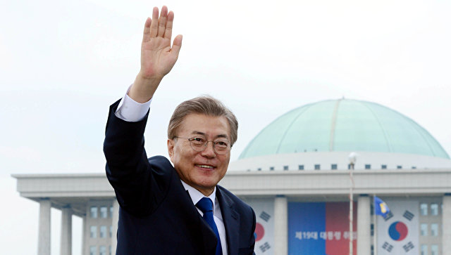 Новый президент Южной Кореи вступил вдолжность