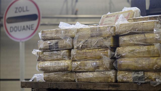 Партия кокаина, задржанная немецкой таможней