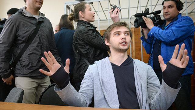 Блогер Руслан Соколовский в Верх-Исетском районном суде Екатеринбурга