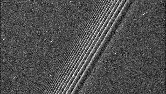 Зонд «Кассини» нашел «пропеллеры» наодном изколец Сатурна