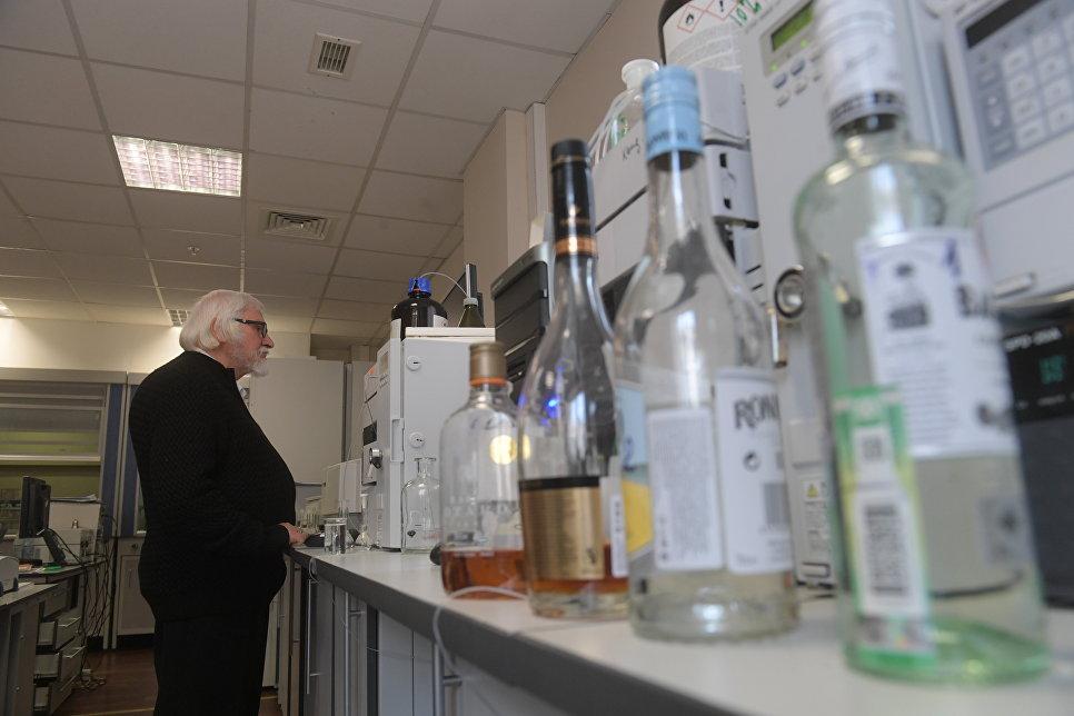 Экспертиза крепких алкогольных напитков