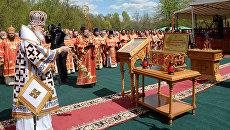 Патриаршее служение на Бутовском полигоне, 13 мая 2017
