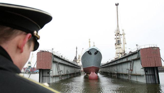Фрегат «Адмирал Горшков» войдет всостав ВМФ РФ осенью
