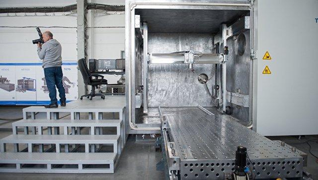Первый российский 3D-принтер для печати крупных металлических изделий в условиях невесомости. Архивное фото