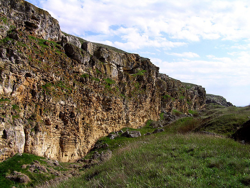Склон горы Опук