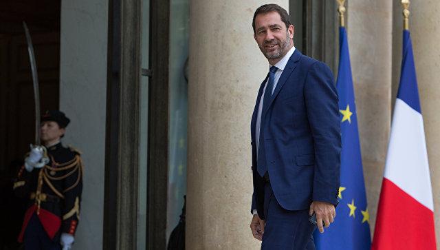 Государственный секретарь Франции по парламентским связям и пресс-секретарь правительства Кристоф Кастанер. Архивное фото
