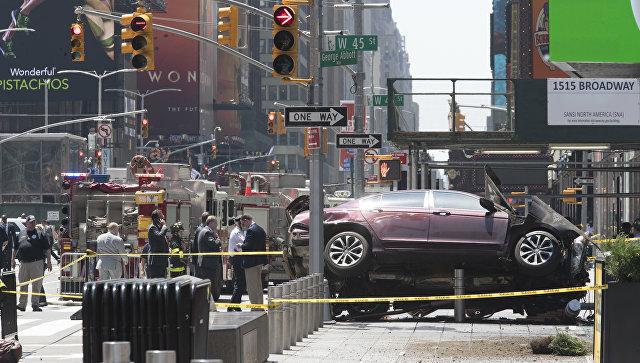 Схвачен шофёр машины, протаранившей пешеходов вНью-Йорке