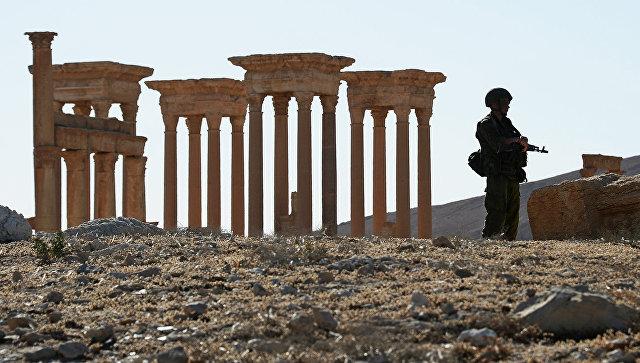 Военнослужащий России в Сирии. Архивное фото