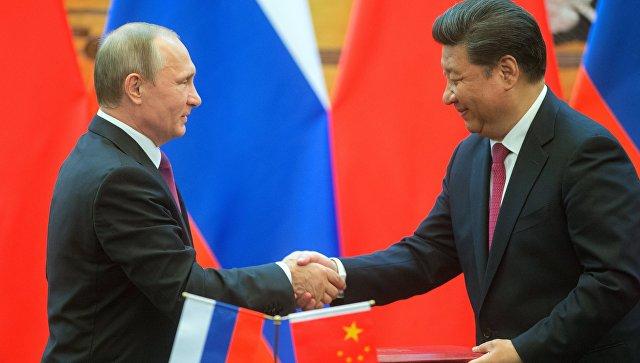 Начались переговоры В. Путина  иСиЦзиньпина