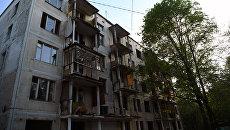 Снос пятиэтажных домов в Москве. Архивное фото