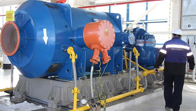 Нефтеперекачивающая станция ВСТО в Сковородино. Архивное фото