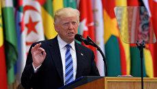 Дональд Трамп в Эр-Рияде